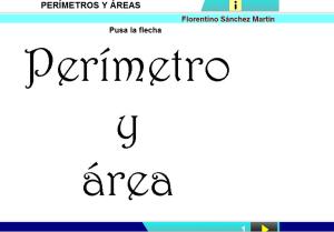 Perímetro y area
