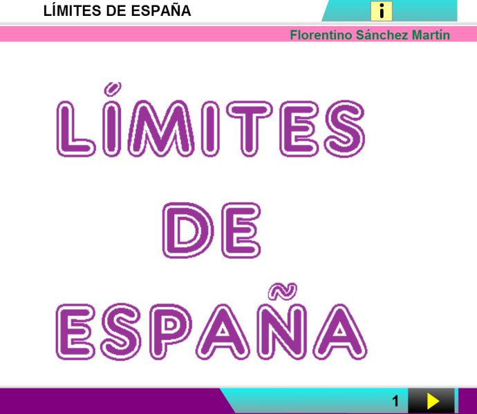 Limites de España